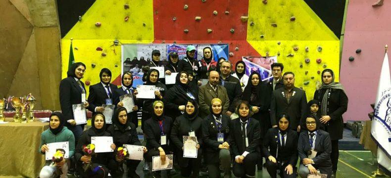 برگزاری رقابت های قدرتی و سرعتی قهرمانی استان ویژه بانوان