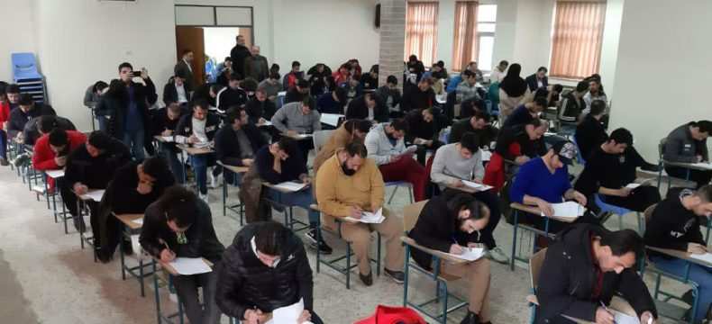 برگزاری آزمون نهایی مربیگری بدنسازی در فرهنگسرای بزرگ الغدیر