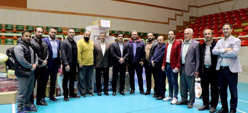 کمکهای جامعه ورزشی استان به هموطنان سیل زده