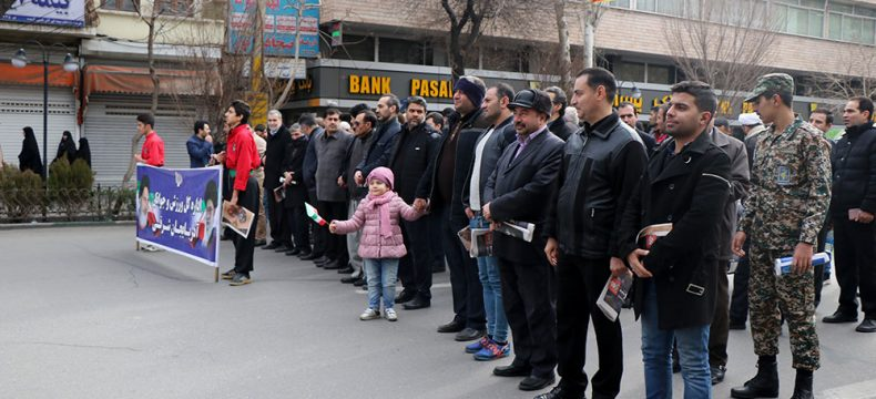 حضور پرشور جامعه ورزش استان در راهپیمایی ۲۲ بهمن