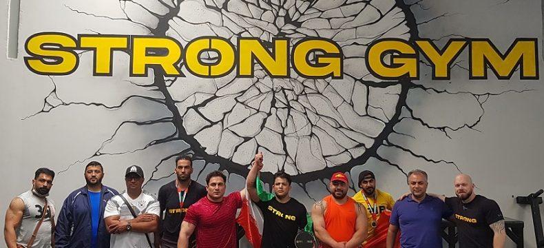 رامین آرغده قهرمان رقابتهای بین المللی قویترین مردان در کشور امارات شد
