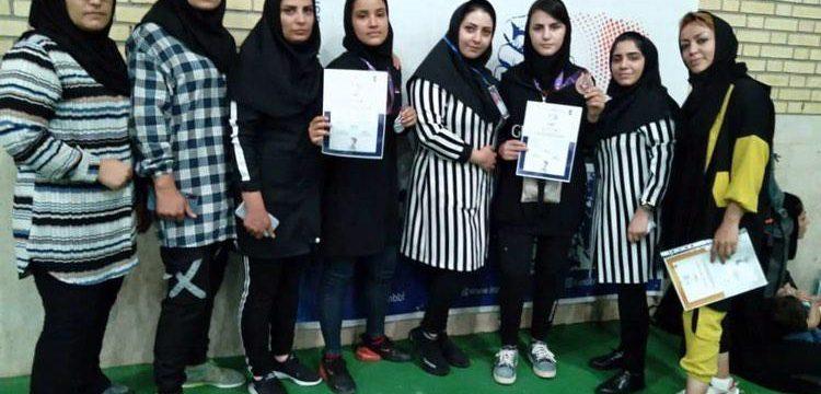 افتخار آفرینی بانوان آذربایجان شرقی در مسابقات مچ اندازی قهرمانی کشور