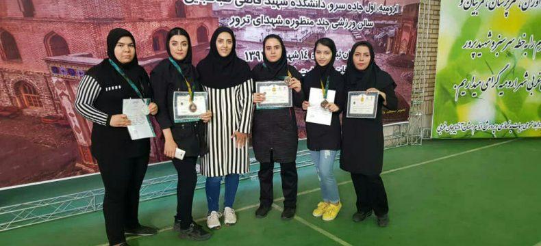 درخشش بانوان آذربایجان شرقی در مسابقات مچاندازی قهرمانی کشور