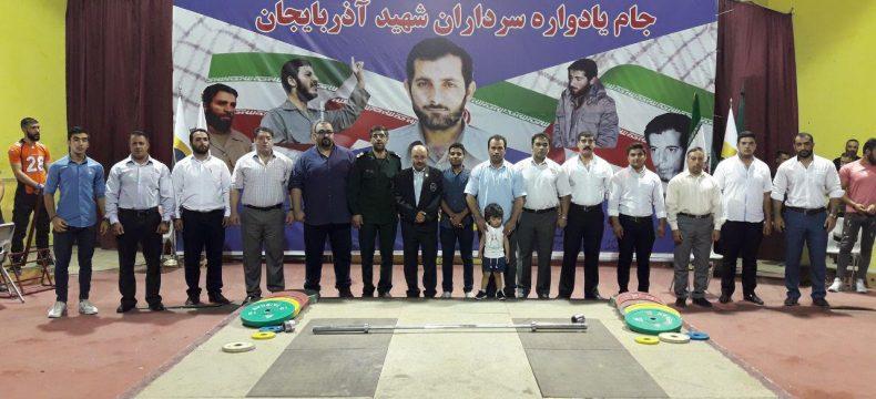 نفرات برتر مسابقات ددلیفت قهرمانی باشگاههای شهرستان تبریز مشخص شدند