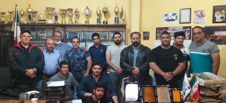 جلسه هماهنگی مسابقات قویترین مردان برگزار شد