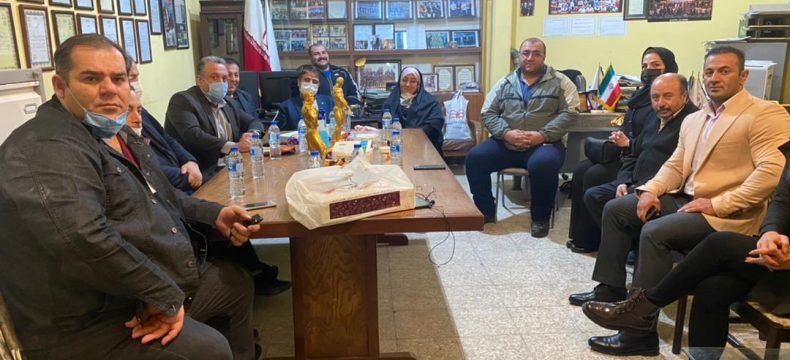 برگزاری آخرین جلسه هیات رئیسه هیات بدنسازی و پرورش اندام استان در سال ۹۹