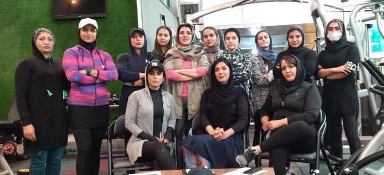 اعزام تیم بانوان آذربایجان شرقی به مسابقات فیتنس چلنج قهرمانی کشور