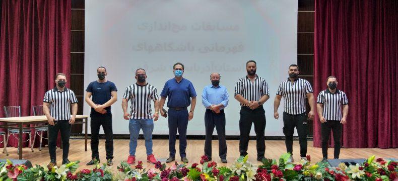 پایان کار مسابقات مچ اندازی قهرمانی باشگاههای آذربایجان شرقی در تبریز