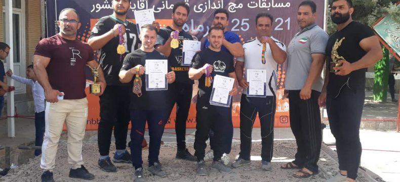 درخشش مچ اندازان آذربایجان شرقی در مسابقات کشوری